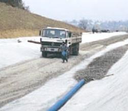Использование геотекстиля продлевает срок службы трубопровода