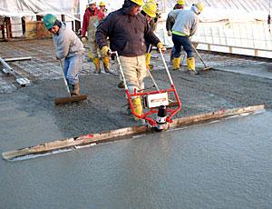 Небывалую прочность приобретает бетонная стяжка, армированная геосеткой