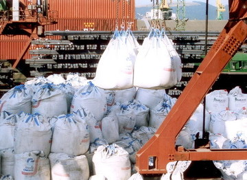 Вот так выглядят геотекстильные контейнеры