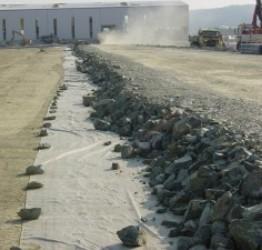 Применение геотекстиля в дорожном строительстве