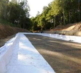 Использование геотекстиля в строительстве дорог