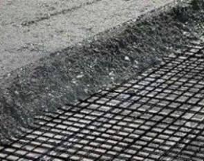 Применение сетки в дорожном строительстве