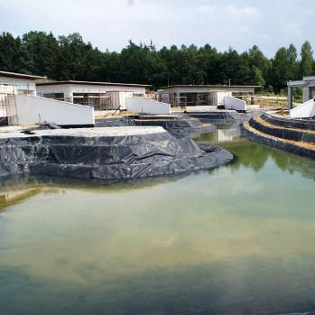 Геомембрана HDPE для пруда