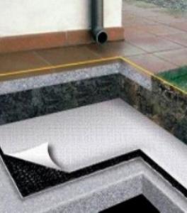 Гидроизоляция фундамента дома с помощью геоматериалов